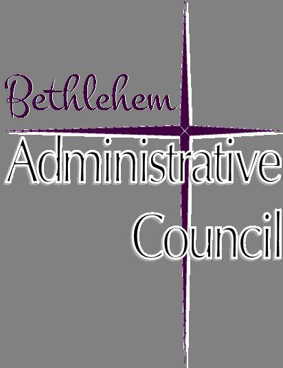 "The Bethlehem Star with the words ""Bethlehem Administrative Council"""